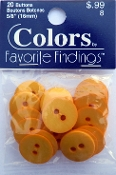 Colors Favorite Findings Yellow Buttons