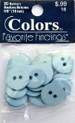 Colors Favorite Findings Blue Buttons