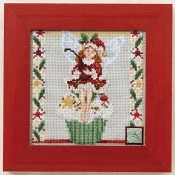 Mill Hill Cupcake Fairy Christmas Cross Stitch Kit