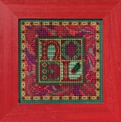 Mill Hill Winter Series - Tapestry Noel - Christmas Beaded counted cross stitch kit