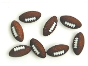 Dress It Up Button Fun Football buttons