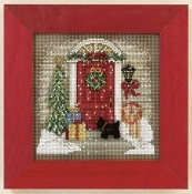 Mill Hill Winter Series Home for Christmas counted cross stitch kit