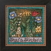 Mill Hill Sticks - Grow a Garden - Beaded Cross Stitch Kit
