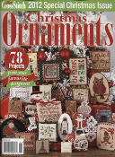 Just Cross Stitch 2012 Special Christmas Issue Ornaments magazine