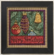 Mill Hill Sticks Holiday Ornaments Christmas Counted Cross Stitch kit