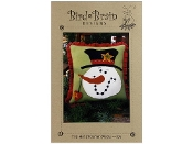 Bird Brain Designs Top Hat Snowman Pillow pattern