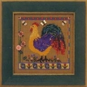 Mill Hill Spring Series - Spring Rooster counted cross stitch kit