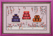 Mirabilia Designs - Garden Party Cakes, Cross Stitch Pattern