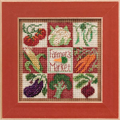 Mill Hill Spring Series - Farmer's Market  2013 Cross Stitch Kit