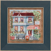 Mill Hill Spring Series - Tea Room - New 2013 Cross Stitch Kit
