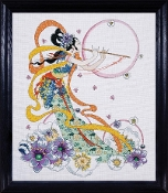 Design Works - Flute Player - Counted Cross Stitch Picture Kit
