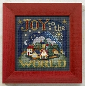 Mill Hill Beaded Counted Cross Stitch kit, Joy to the World
