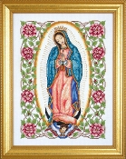 Design Works - Our Lady of Guadalupe Counted Cross Stitch Kit