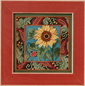 Mill Hill Sunflower beaded counted cross stitch kit
