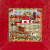Mill Hill Autumn Series, Country Morning - 2013 Cross Stitch Kit
