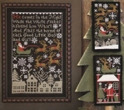 The Prairie Schooler, Santa's Night Cross Stitch Charts