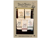 Bird Brain Designs Animal Stackers Tea Towels embroidery patterns