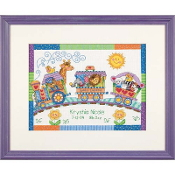 Dimensions Counted cross stitch picture kit - Baby Express Birth Record