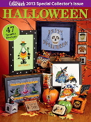 Just Cross Stitch special collector's issue Halloween 2013 magazine
