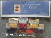 Mirabilia Designs Buttercup NC195E embellishment pack, Mill Hill Beads