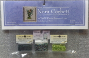 Mirabilia Designs Faerie Summer Love NC202E embellishment pack, Mill Hill Beads