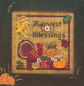 Mill Hill Autumn Series III - Harvest Blessings MHCB69 counted cross stitch kit