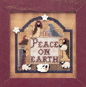 Mill Hill Peace on Earth MHCB77 Christmas counted cross stitch kit