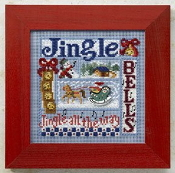 Mill Hill Buttons and Beads Winter series Jingle Bells Christmas beaded counted cross stitch kit