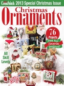 Just Cross Stitch 2013 Special Christmas Issue Ornaments magazine