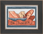 Mill Hill Sticks beaded counted cross stitch kit - Be Thankful