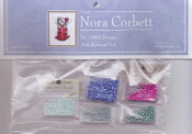 Mirabilia Designs Zinnia NC196E Nora Corbett embellishment pack, Mill Hill Beads