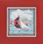 Mill Hill Spring Series - Summer Breeze - beaded counted cross stitch kit