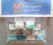 Mirabilia Designs Fairie Winter Dream NC204E Nora Corbett embellishment pack, Mill Hill Beads, treasures