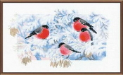 Riolis - Frosty Morning - counted cross stitch picture kit
