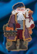Mill Hill - Joyeux Noel Santa MH20-4302 Christmas Ornament beaded counted cross stitch kit