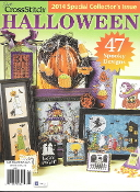Just Cross Stitch special collector's issue Halloween 2014 magazine