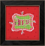 Mill Hill Amylee Weeks Christmas beaded counted cross stitch kit - Angel