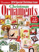 Just Cross Stitch 2014 Special Christmas Issue Ornaments magazine