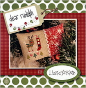 Lizzie Kate - Dear Rudolph Christmas counted cross stitch kit