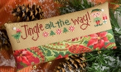 Lizzie Kate - Jingle All the Way Christmas counted cross stitch kit