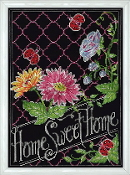 Design Works Crafts Home Sweet Home counted cross stitch picture kit