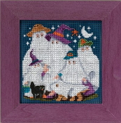 Mill Hill Autumn Series Ghost Family Halloween beaded counted cross stitch kit