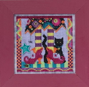 Mill Hill Autumn Series Magic Shoes Halloween beaded counted cross stitch kit