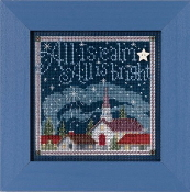 Mill Hill Christmas Counted cross stitch kit - All Is Calm