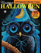 Just Cross Stitch special collector's issue Halloween 2015 magazine
