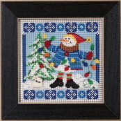 Mill Hill Christmas Counted cross stitch kit - Mr. Jack Frost