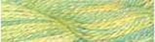 Caon Collection Waterlilies Lemon n Lime 12 ply silk embroidery thread