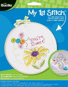 Bucilla Counted cross stitch beginners kit - You're Sweet