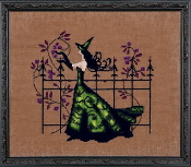 Mirabilia Designs Gwen NC220 design by Nora Corbett counted cross stitch pattern