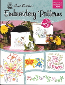 Aunt Martha's Embroidery patterns Flowers Butterflies - iron on transfers